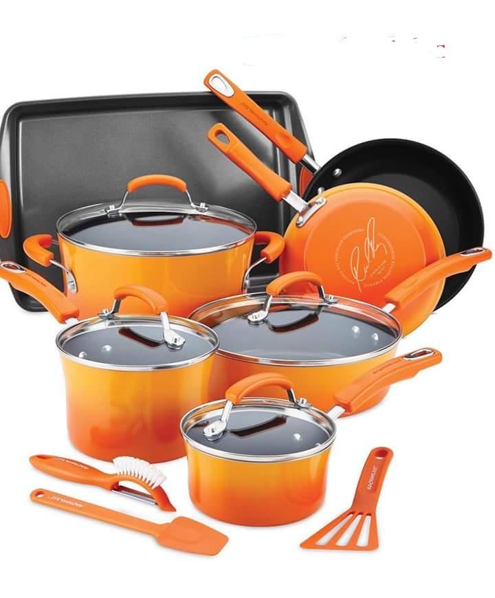 Belgique Stainless Steel 11-Pc  Cookware Set
