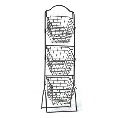 Mikasa+3+Tier+Standing+Market+Storage+Metal+Basket (5)